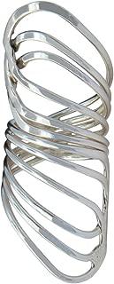 Angelitos de Mexico 925 Sterling Silver Adjustable Ring Unique Elegant Gift Handmade
