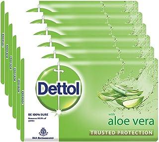Dettol Soap - 100 g (Pack of 6, Aloe Vera)