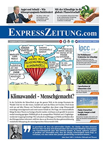 Klimawandel - Menschgemacht?: ExpressZeitung Ausgabe Nr. 9