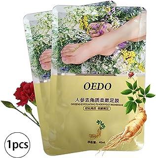 Beito 1Bag Natural Ingredient Ginseng Foot Peel Mask Maschera esfoliante del peeling del piede per i piedi morbidi del bam...