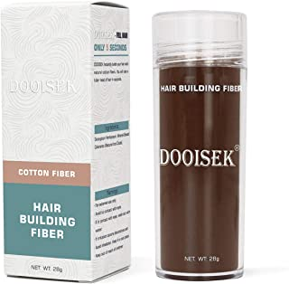 DOOISEK Hair Fibers Powder for Thinning Hair for Women & Men,Thickening spray Conceals Hair Loss,Cover Up and Concealer fo...