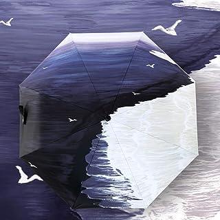 RXY-傘 人および女性のためのビニールの自動日よけの日曜日の保護紫外線折る傘