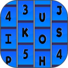 Letter Tiles (Don't Touch The Numbers) Free