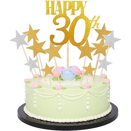 Cake Star Cake Topper Diamante Nummer 0 Silber Edel Glitzer NEU