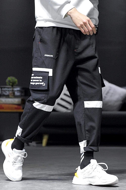Autumn Winter Men's Fashion Casual Popular Long Pants Noir