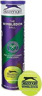 Slazenger Wimbledon Ultravis Sports Training Tennis Match Pack of 12 Balls Only
