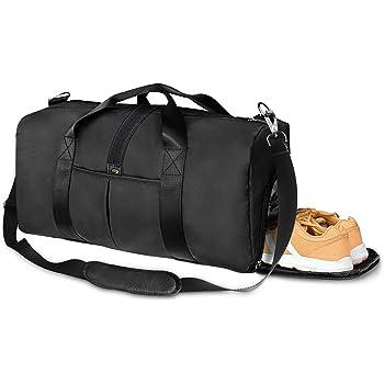 Shoulder Bags Womens Cylindrical Backpack Front Pocket Sports Gym