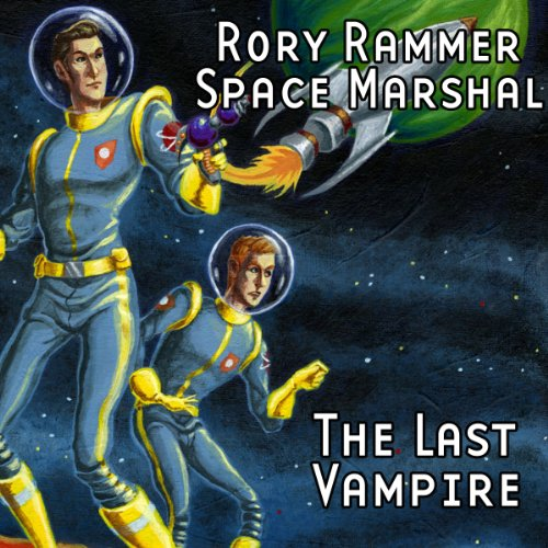 Rory Rammer, Space Marshal cover art