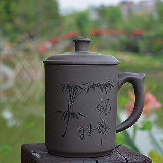 KKKDB マグカップ マグカップ中国茶カップカンフーポット健康ポット紫粘土カップドリンクウェア480ml Zishaティーカップ、スタイル1