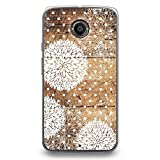 CasesByLorraine Hard Plastic Case for Moto X2, Wood Print