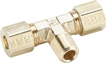 Push-to-Connect and BSPP Y Connector Nylon Parker 368PLP-12M-6G-pk10 Composite Push-to-Connect Fitting 12 mm and 3//8 Glass Reinforced 6.6 12 mm and 3//8 Tube to Pipe Pack of 10