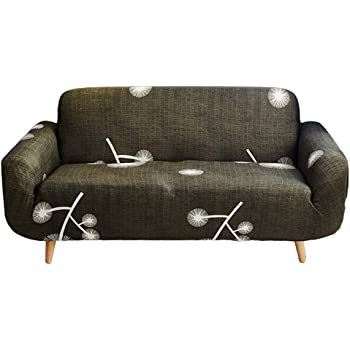 Jiyaru Slipcovers Sofa Covers Stretch Non-slip loveseat Covers Furniture Protectors for Dining Room Beige Pillowcase-1pc