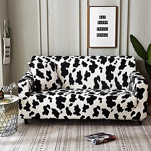 WXQY Einfache elastische Sofaschutzhülle All-Inclusive rutschfeste Sofaschutzhülle Kombination L-förmige Ecksofabezug A20 4-Sitzer