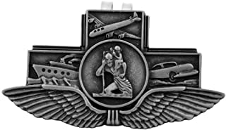 Assorted Holy Subject Visor Clips   30 Different Auto Clips   Beautiful Prayers and Subjects   Durable Genuine Pewter Metal   Christian Automotive (St. Christopher - Land Sea Air Clip)