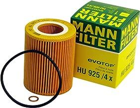 Mann-Filter HU 925/4 X Metal-Free Oil Filter (Pack of 2) By SUINPLA