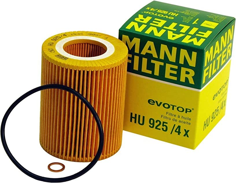 Mann-Filter HU 925/4 X Metal-Free Oil Filter (Pack of 3)