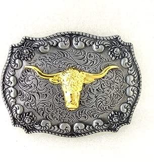 Western cowboy belt buckle for belt accessories Custom buckle