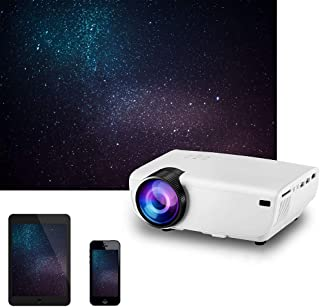 Multifunctional Portable Home Projector, Support Smart Phone Screen, Home Theater Projector Video Projector, SUB HDMI VGA ...