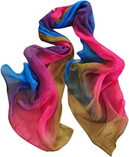 Pumsun Women Gradient Printing Scarf Fashion Female Beach Multi-Purpose Shawl Scarf