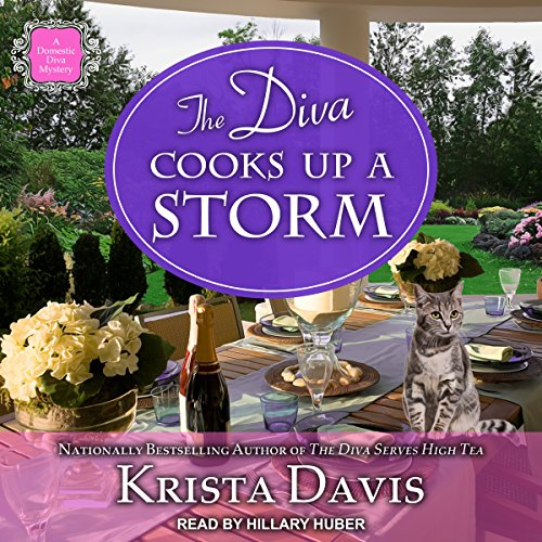 The Diva Cooks Up a Storm audiobook cover art