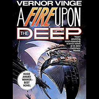 A Fire Upon the Deep cover art