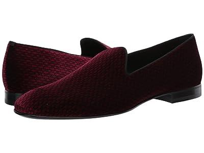 BOSS Hugo Boss Glam Slip-On Loafer by BOSS (Dark Red) Men