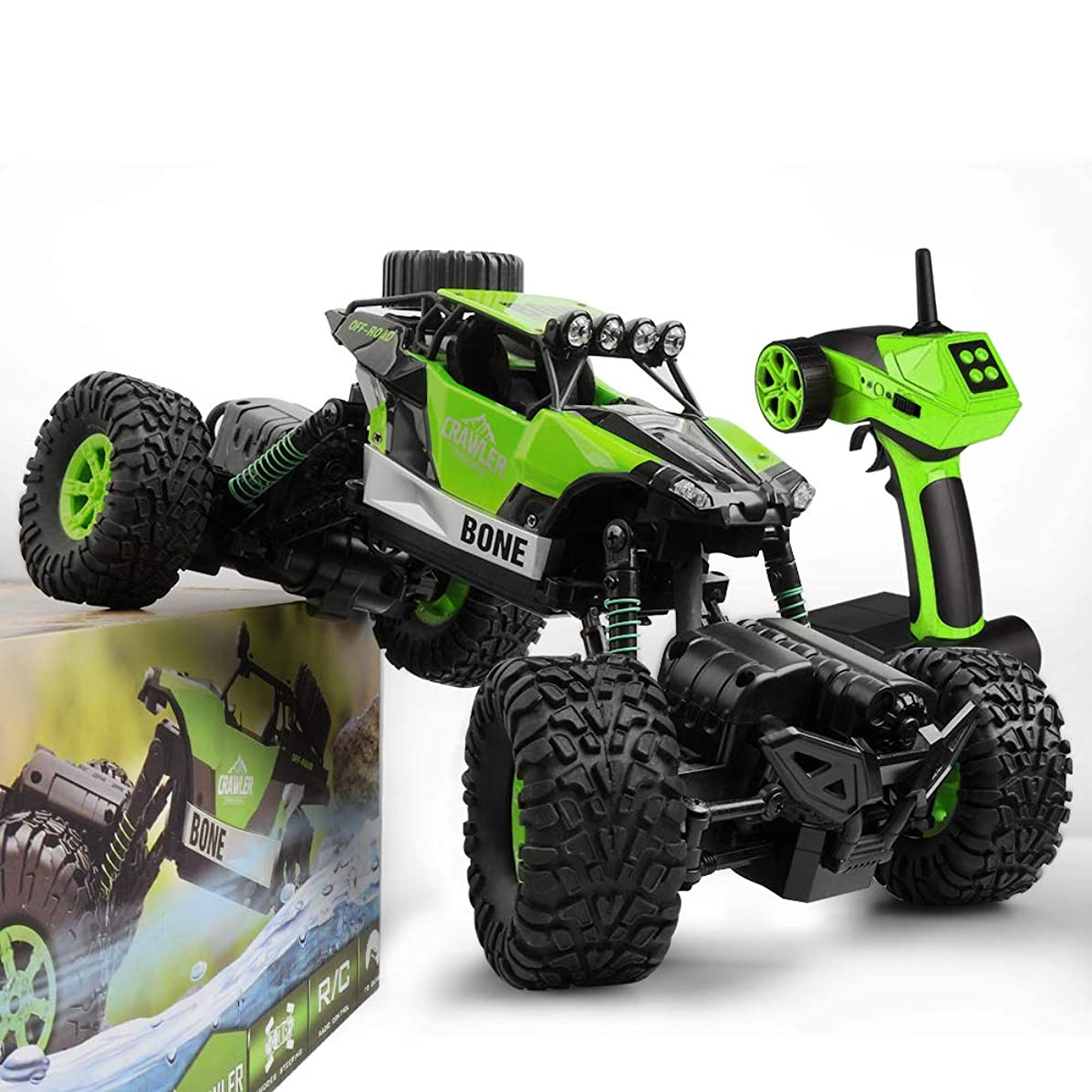 Gizmovine RC Cars 4WD High Speed Remote Control Car 2.4Ghz Off Road RC Monster Truck Toy for Kids & Adults