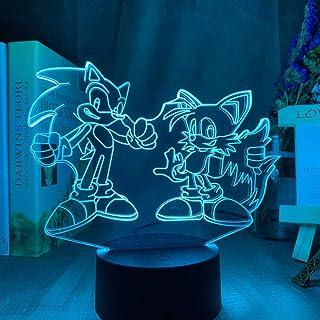 Veilleuse 3D Veilleuse LED pour enfants, Lampe de chevet USB16 Couleurs Changeantes avec Télécommande pour Enfants Adultes...