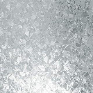 """D-C-Fix 3460166 Splinter Dc Fix 346-0166 Decorative Self-Adhesive Window Film, 17.71"""" X 78"""" Roll, 17"""" X 78"""""""
