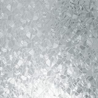 d-c-fix 346-0166 Self-Adhesive Privacy Glass Window Film, Splinter, 17