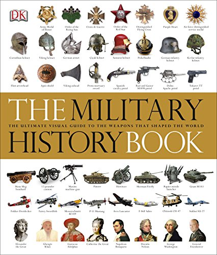 The Military History Book: The Ultimate Visual Guide to the Weapons that Shaped the World (Dk General History)