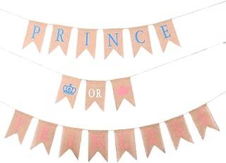 prince or princess gender reveal banner