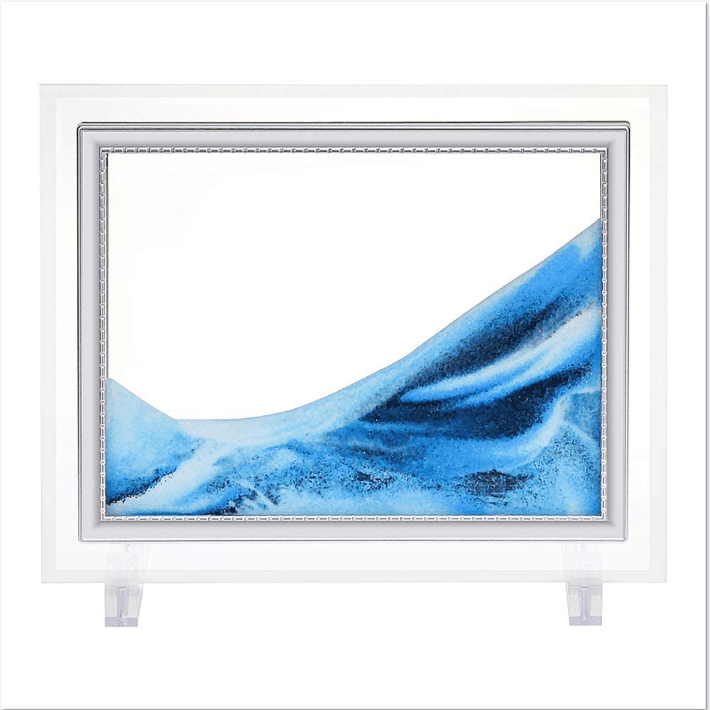CAILINK Dynamic Sand Picture Ocean Art Ultra-Cheap Deals Heart Moving Brand new Pictur