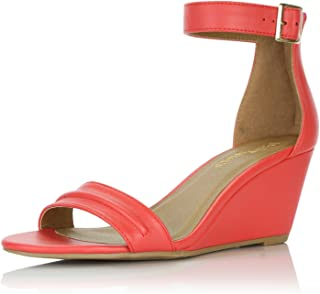 e983f792205cc Amazon.ca: Red - Platforms & Wedges / Sandals: Shoes & Handbags