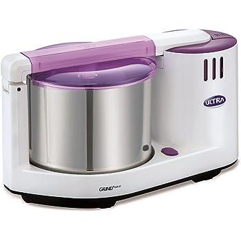 Elgi Ultra Grind+ Gold Table Top  Wet Grinder, 2L (White/ Purple)