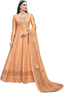 فستان حفلات للنساء أصفر شاحب فستان هندي باكستاني طويل فستان طويل فستان مطرز مسلم 6218