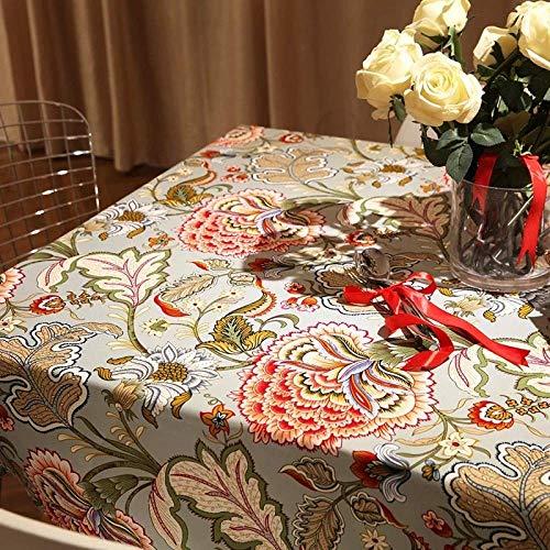 Manteles para Restaurantes La decoración del hogar decoración Mantel de Navidad mantel mantel de algodón acolchado mantel retro hotel de mantel multifunción Cubierta de la toalla de té Mantel Mesa de