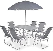 Amazon.es: mesas y sillas de jardín con sombrilla