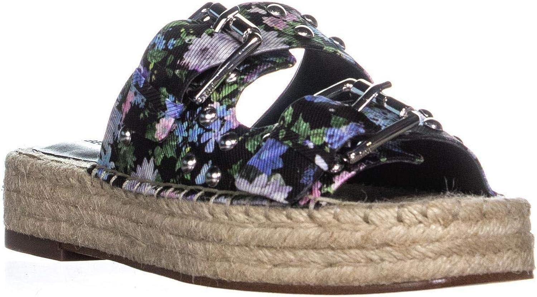Rebecca Rebecca Rebecca Minkoff kvinnor Jodi Floral Print Buckle Slide Sandals  ny notering