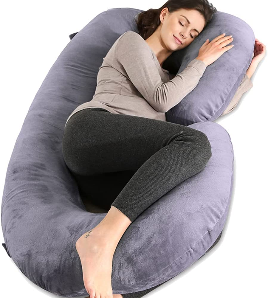 Chilling Home Pregnancy Pillows for Sleeping, C Shaped Body Pill