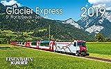 Glacier Express 2019: St. Moritz /Davos - Zermatt -