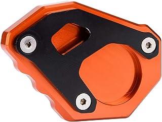 Vobor Motorradständer Seitenständerplattenverlängerung Vergrößern Pad Motorrad Seitenständer Vergrößerer für 1050/1090/1190/1290 Adventure Super