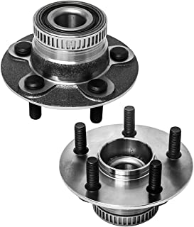 PAIR 512167 Rear Wheel Hub Bearing Assemblies w//ABS+Lugs For Neon PT Cruiser 2