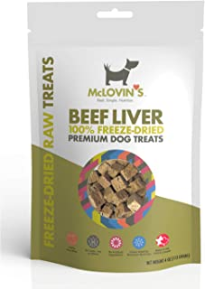 Sponsored Ad - McLovin's Freeze Dried Dog Treats High-Protein, Grain-Free, Premium Quality Meat, All-Natural Treats, Ingre...