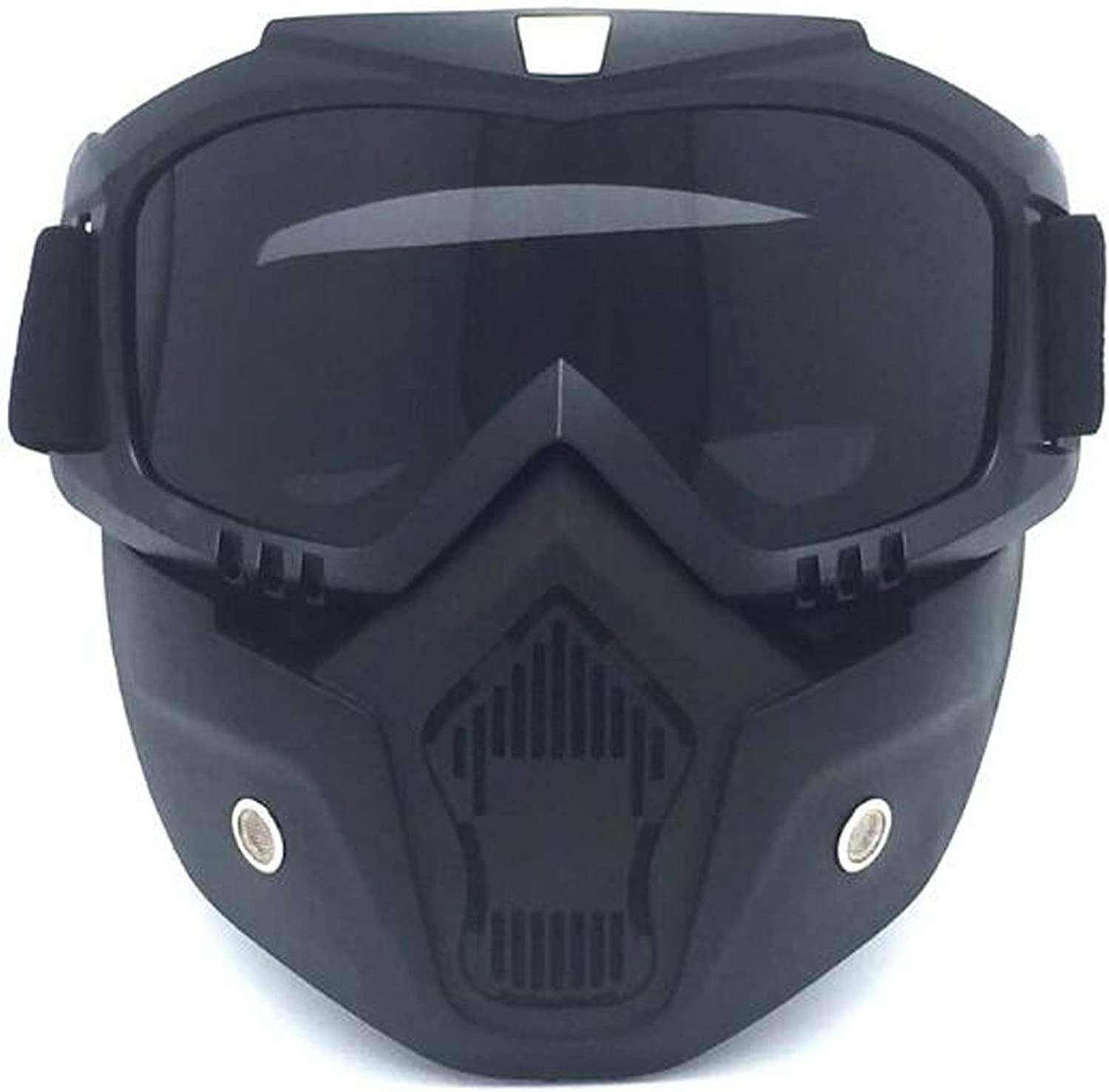Harley Motorcycle Removable Mask Riding Mask with Goggles Helmet Sunglasses