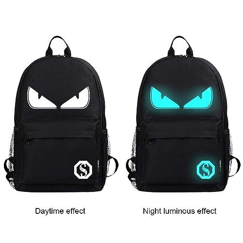 534204e563 Cool Boys School Backpack Luminous School Bag Music Boy Backpack for Kids