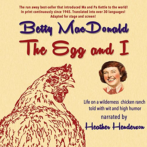 The Egg and I audiobook cover art