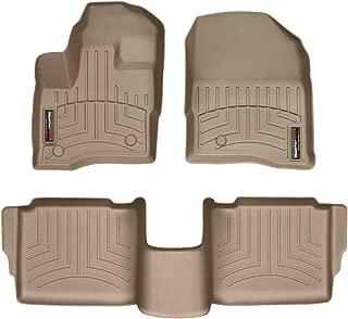 WeatherTech Custom Fit FloorLiner for Ford Taurus - 1st & 2nd Row (Tan)