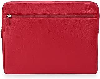 Levenger Luxe Tech Folio - Pro - Portfolio Briefcase, Red (AL14320 RD NM)