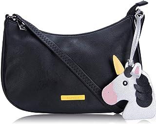 Caprese Spring-Summer 21 CF Women's Sling Bag (Black)
